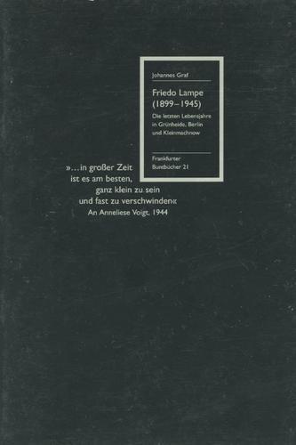 Friedo Lampe (1899–1945)