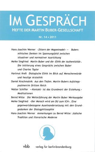 Im Gespräch, Heft 14/ 2011